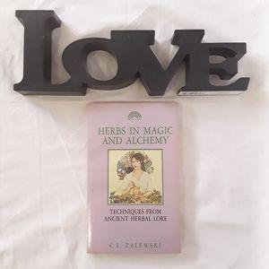 Other - C.L. Zalewski Herbs in magic and Alchemy